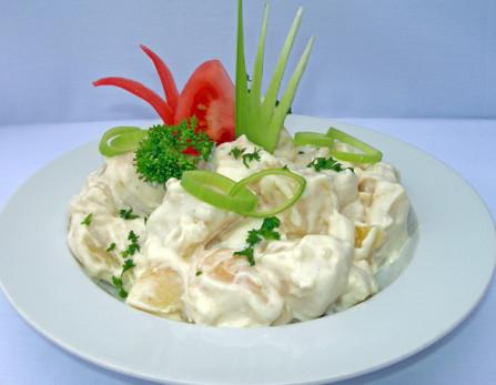 Pórés majonézes burgonyasaláta