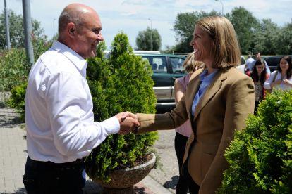 Colleen Bradley Bell az USA nagykövetének látogatása