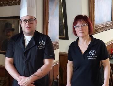 Szakácsok: Kanyok Bence, és Pétervári Tibor Károlyné, Aranka
