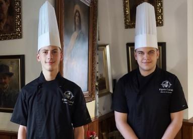 Szakács tanulók: Karsai Ádám, és Varga Tamás