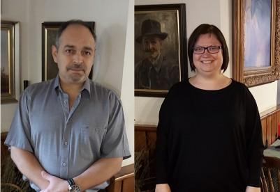 Üzletvezetőnk: Csepregi Zoltán, és irodai asszisztensünk: Pollákné Farkas Ildikó