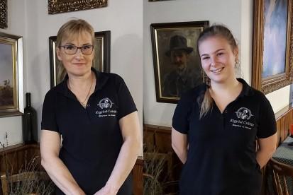 Felszolgálók: Könnyű Éva, és Kovács Fruzsi